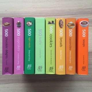"""""""500"""" Cookbooks"""
