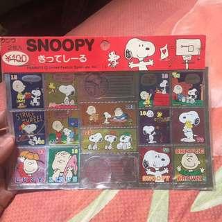 Stiker snoopy
