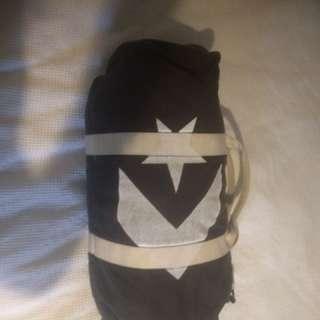 Vintage style converse weekender bag