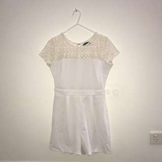 Chicabooti White Playsuit