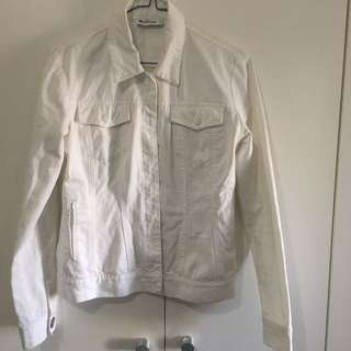 White Vintage Ben Sherman Denim Jacket