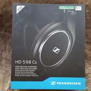 Brand New Sennheiser HD 598 Cs Closed Back Headphone