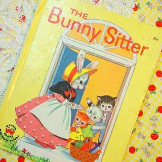 古董童書<The Bunny Sitter>