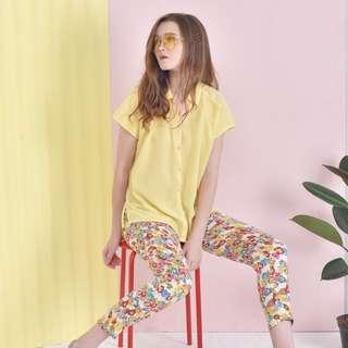blanik yellow blouse