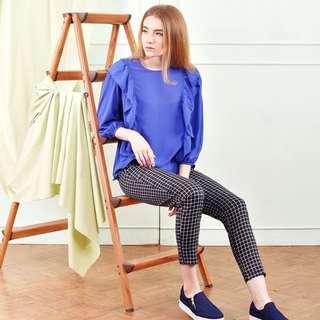 blanik blue blouse