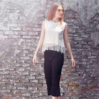 blanik white blouse