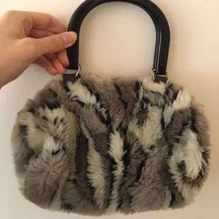 Small Fur Handbag