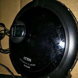 Aten video kmv 8port spliter with remote