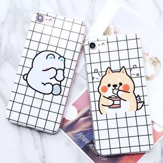 puppies couple phone casing