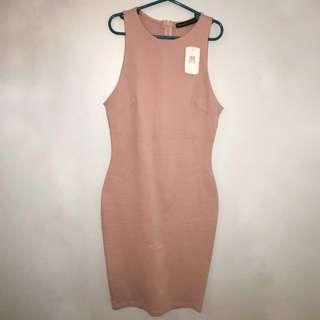 M Boutique Blush dress