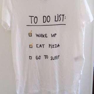 H&M White T-Shirt