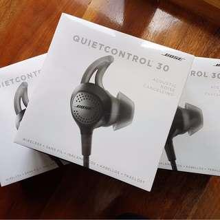 **PROMO** Brand new and Sealed QC30 quietcontrol 30 quiet control 30