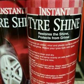 Tyre Shine 350g Spray Can