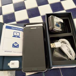 WTS Samsung S7 Edge 32GB Black