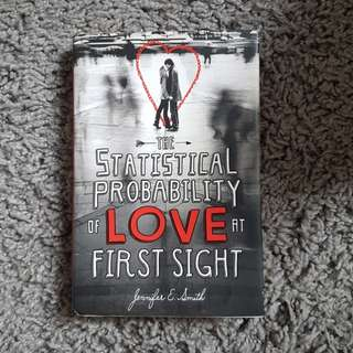 Hardbound Statistical Probability of Love at First Sight