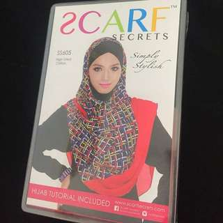 Scarf Secrets shawl new with box