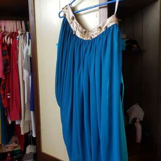 ❤REPRICED!!! Blue Bridesmaid dress
