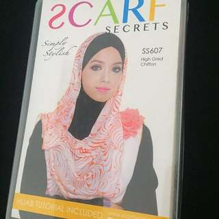 Scarf Secrets new with box
