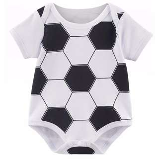 Football and Rugby Baby romper