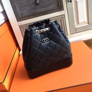 Chanel GABRIELLE Backpack Black A94485