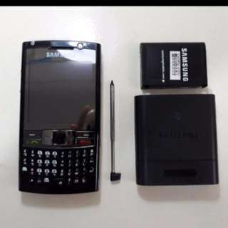 Samsung QWERTY Phone, Touch Screen With Stylus