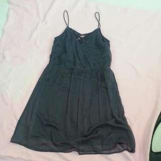 Vera Moda Navy Blue Dress
