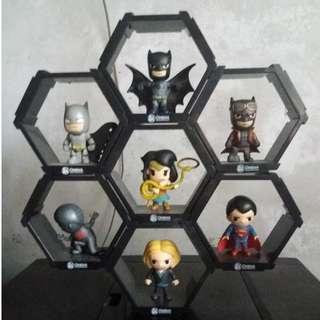 Batman VS Superman Collectibles Complete Set