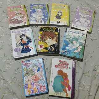 9pcs Manga Bundle