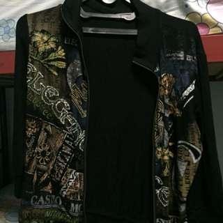 Jaket hitam blink