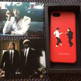 黑色追緝令 Pulp Fiction 手機殼-iphone 7