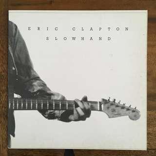 "Eric Clapton ""Slowhand"" Vinyl LP"