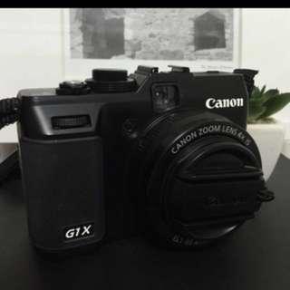 CANON(G1X)HD高畫值(靜、動態錄影)9成新
