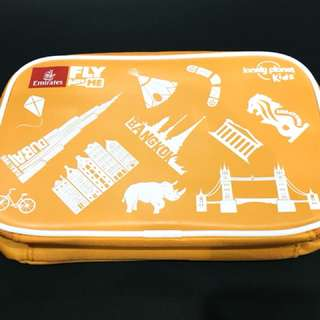 Lunch Bag by Emirates colour orange