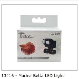 Marina Betta LED light with postage