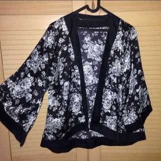 Kimono Outer Flowers