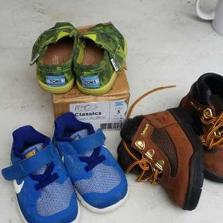 Branded shoes for babies all orig