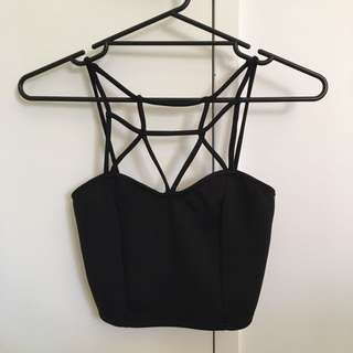 Sabo Skirt Black Crop Top