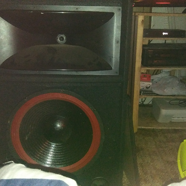 15 inch speakers for parts