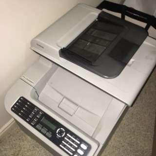 Kyocera printer b+w and colour