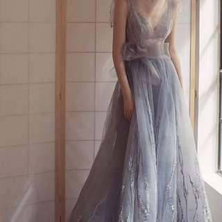 Ash ball dress