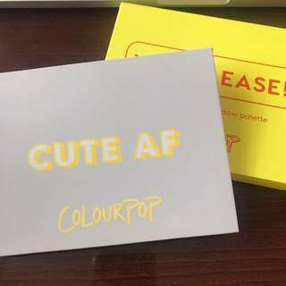 Colourpop YES PLEASE! Eyeshadow Palette