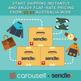 Sendle $6.95 Flat Rate Promotion