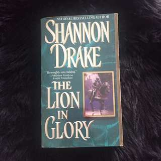 The lion in glory by Shannon Drake