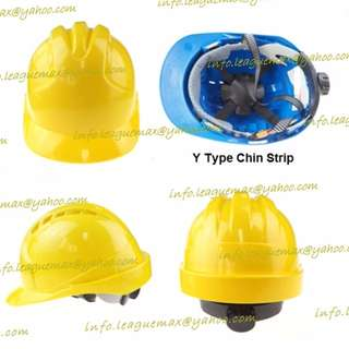 Standard Safety Helmet 合格工程用安全帽 Y type Chin Strip Y 型下巴帶