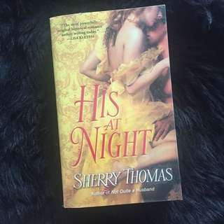 His at next night by Sherry Thomas