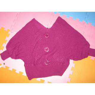VIOLET KNITTED TOP