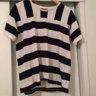 Lower Striped Tee