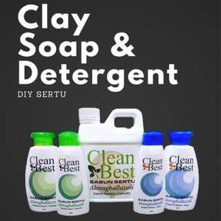 Clay Soap & Detergent (Sabun Sertu)