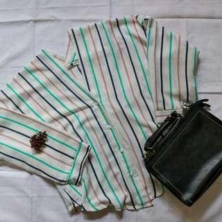 Colourful stripe shirt