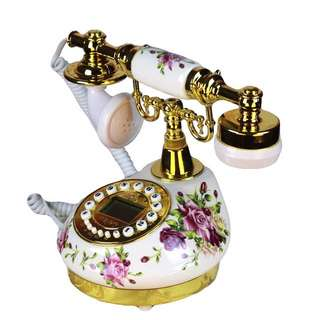 家居復古歐陸式有來電家居電話